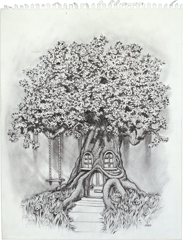 Division 23 Tree (1/3) / 1997 / sold