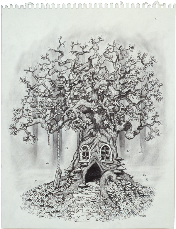 Division 23 Tree (2/3) / 1997 / sold