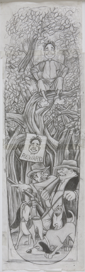 Runaway / pencil on paper / 1992 / sold