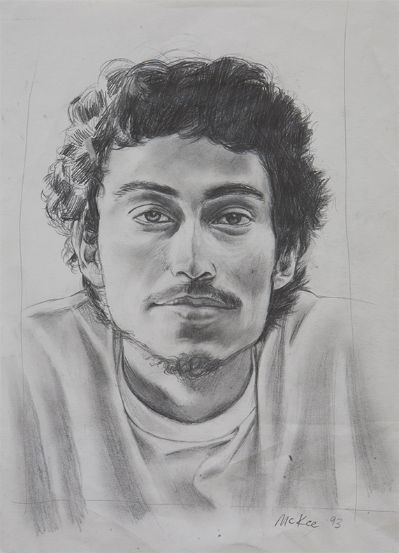 Paulo Diaz / pencil on paper / 1995 / sold