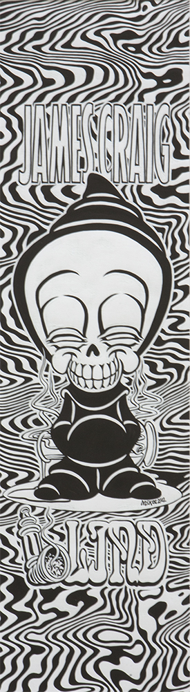 Reaper 420 / ink and goauche on paper / 2002