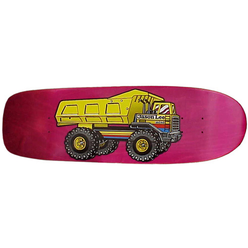 Jason Lee / Dump Truck Mini / 1990 / sold