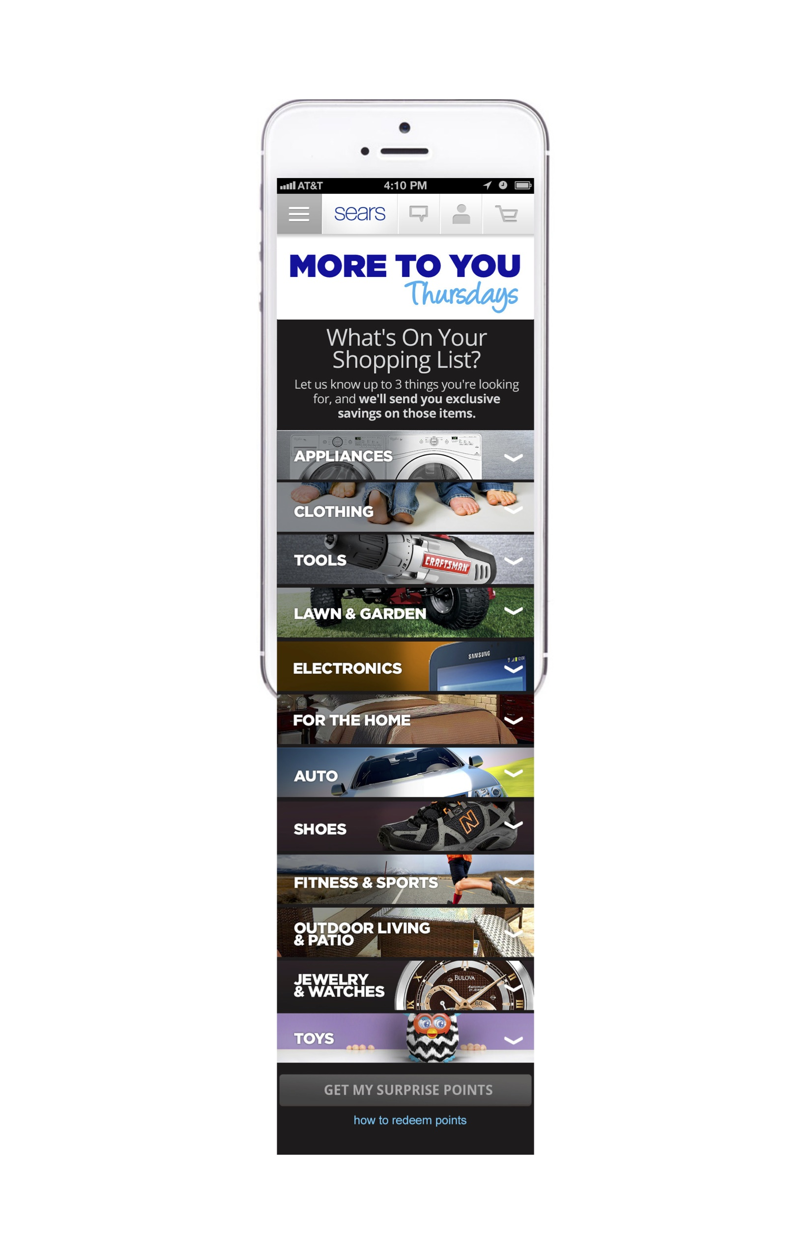 More to You Thursday Mobile Landing Page