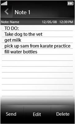Notepad Application