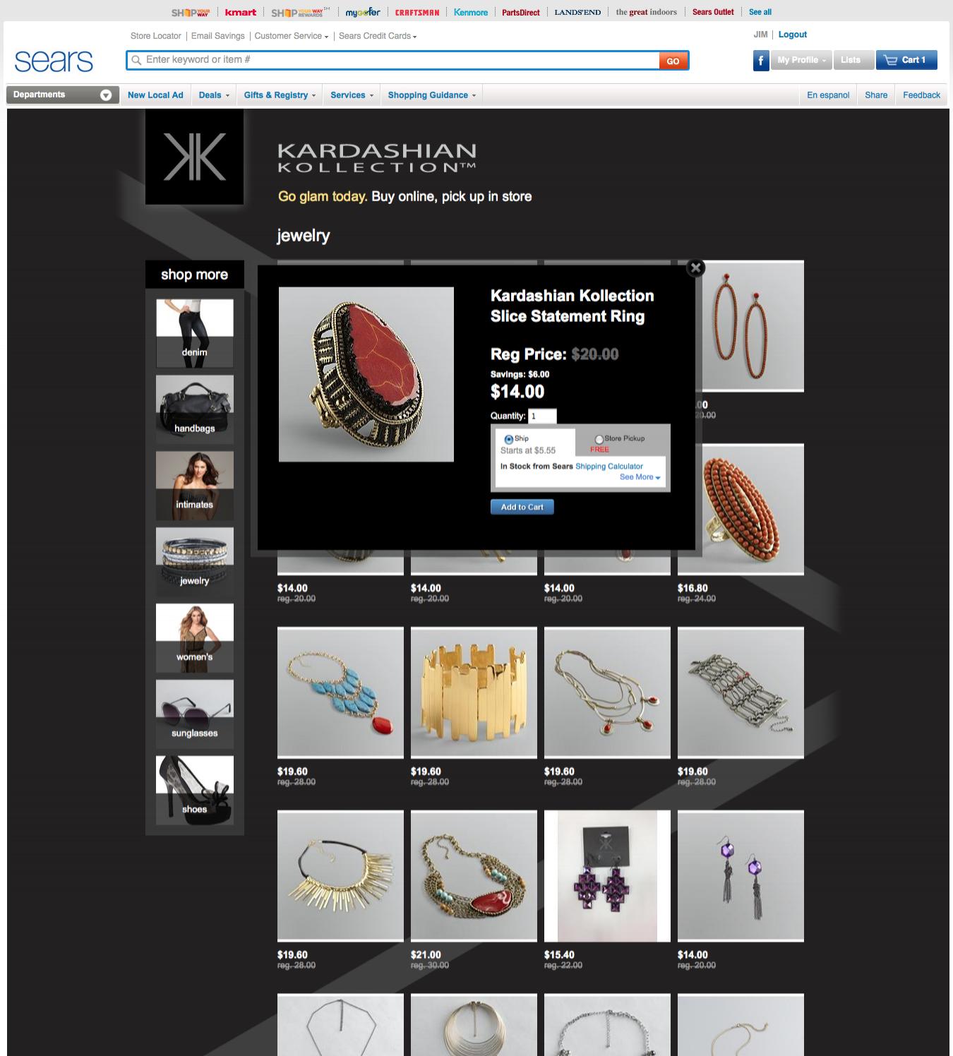Kardashian Kollection Product Quickview