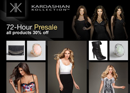 Kardashian Kollection   Desktop    Sleek, modern online boutique featuring the Kardashian Kollection aimed at establishing fashion credibility with a younger consumer audience.