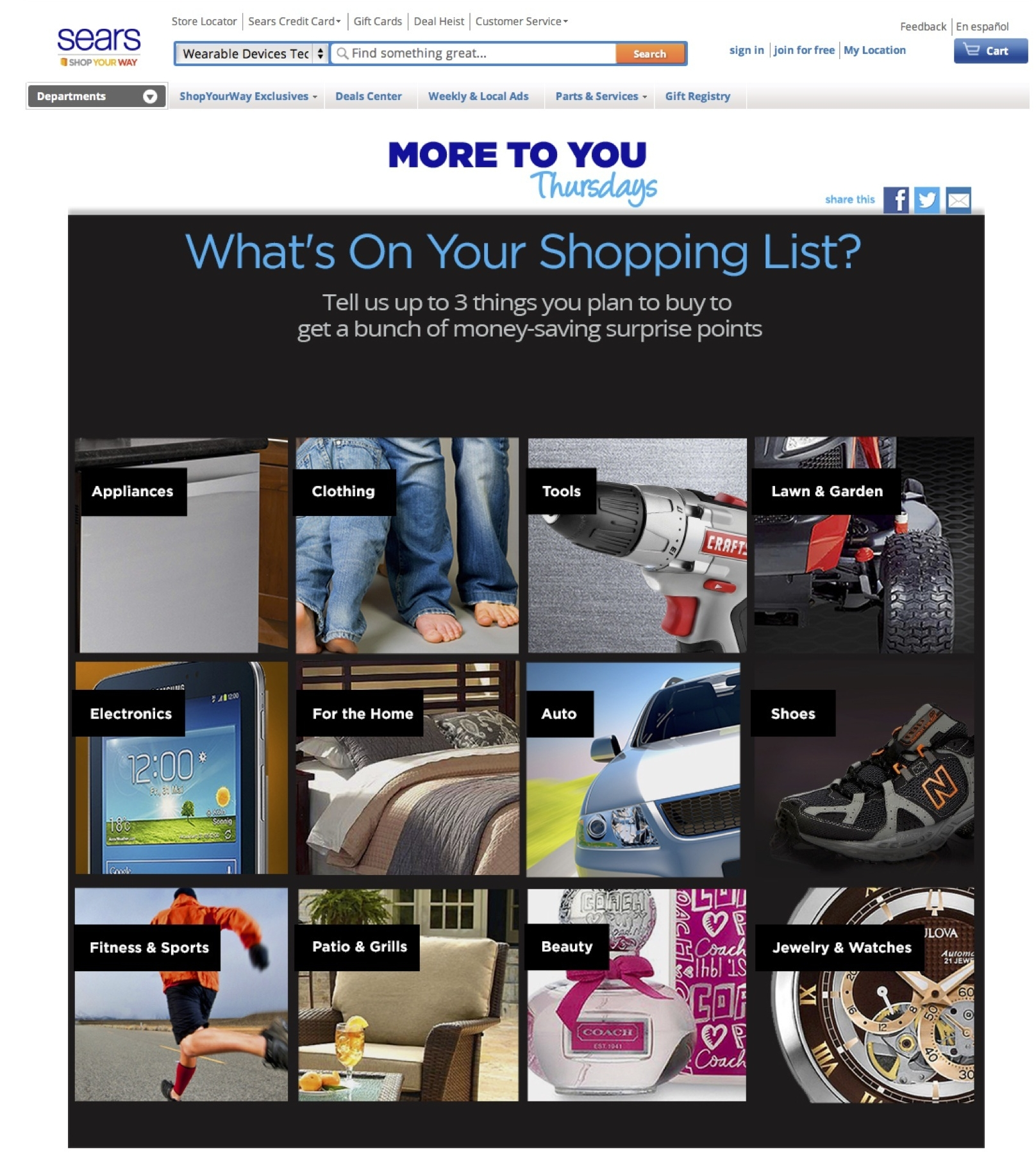More to You Thursday Landing Page