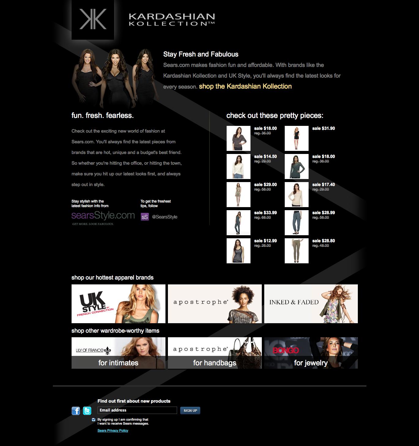 Fashion brand cross-selling