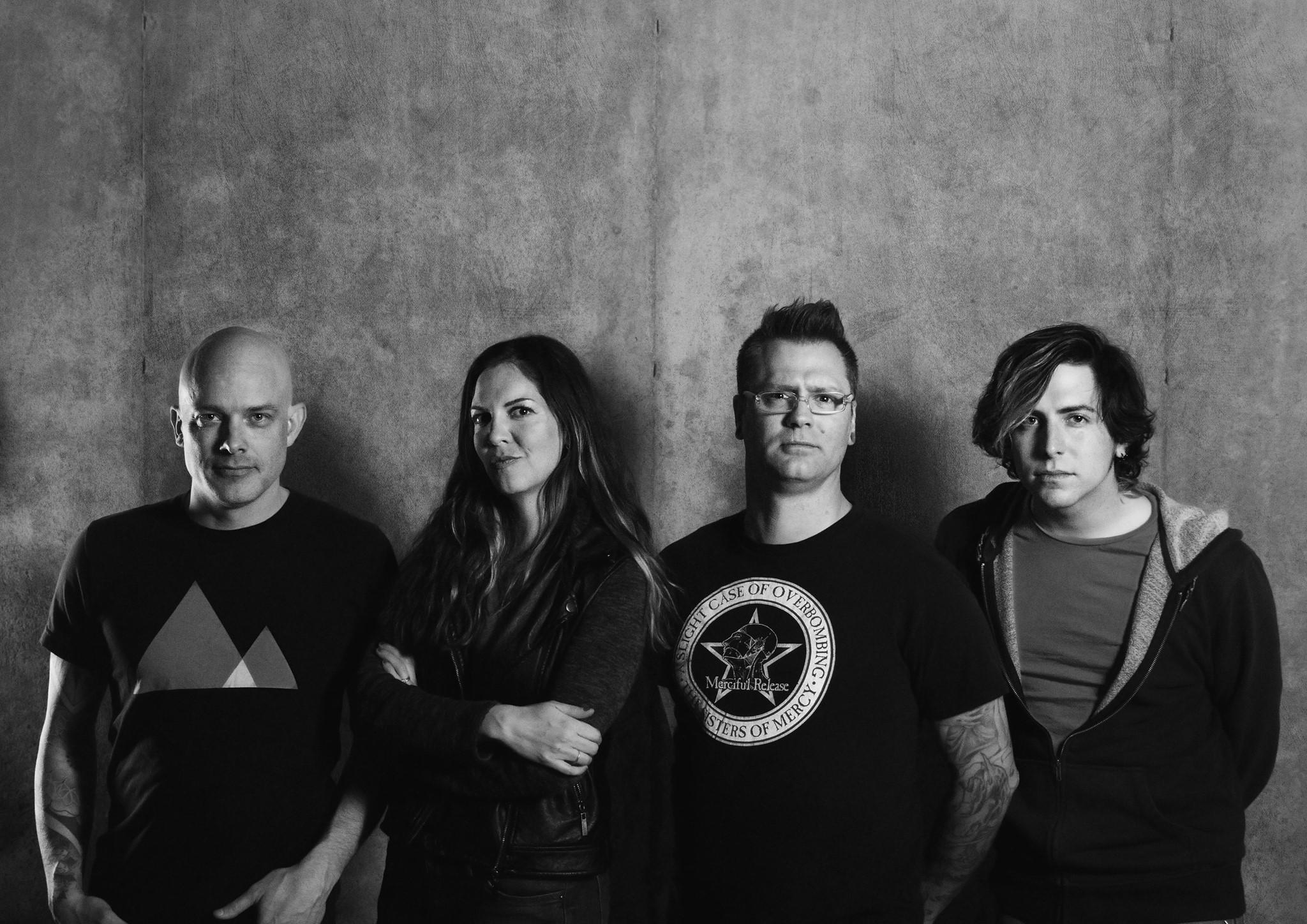 Scott Kerr (from left), Leanor Ortega Till, Andy Verdecchio and Matt Langston make up the Fast Feeling (Facebook/ Shannon Faber )