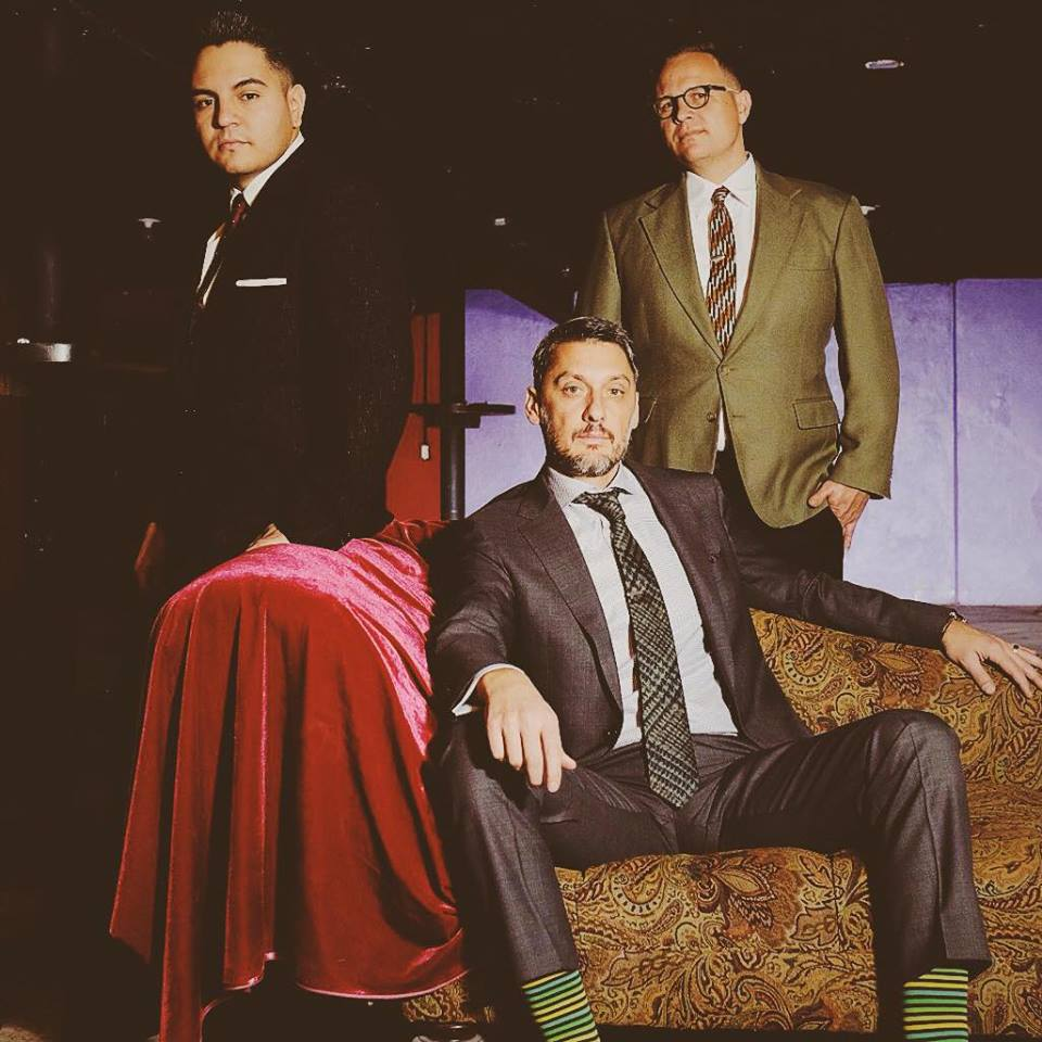 Steve Cervantes (from left), Tim Wieser and Tyler Jacobson are the Mile High Soul Club