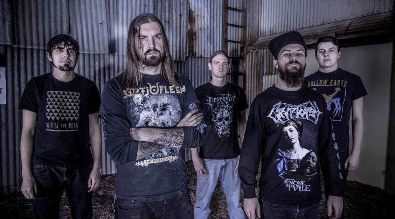 Allegaeon's new album, Proponents for Sentience, is due out 9/23/16 (photo: Matthew Zinke)