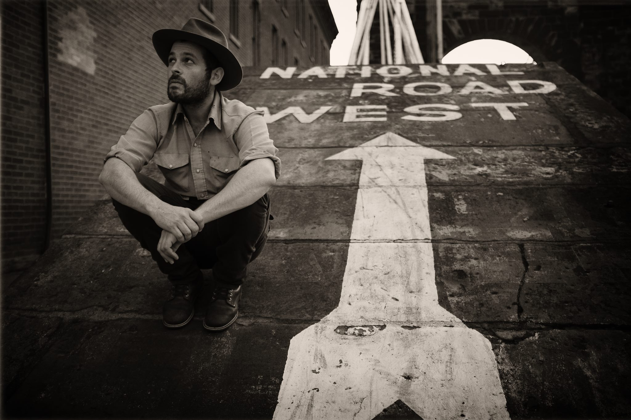 Gregory Alan Isakov is due to appear this Sunday at Red Rocks (photo: Jamie Mefford)