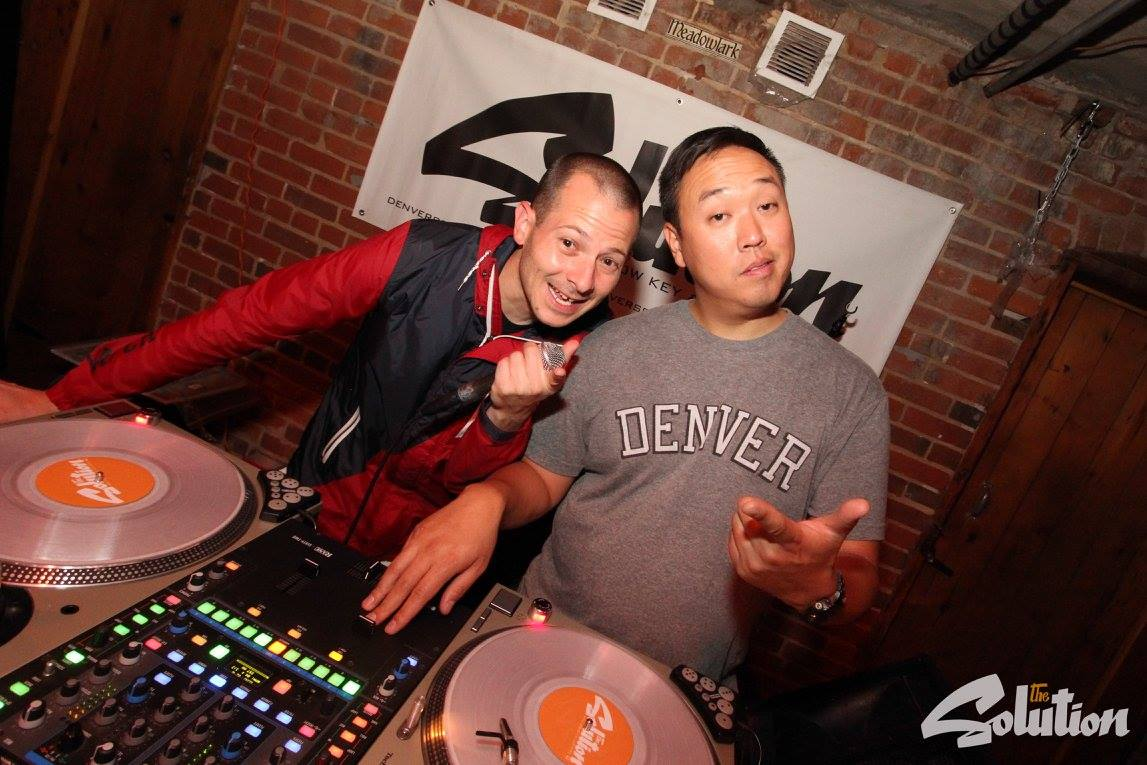 DJ Low Key and DJ Lazy Eyez at The Solution