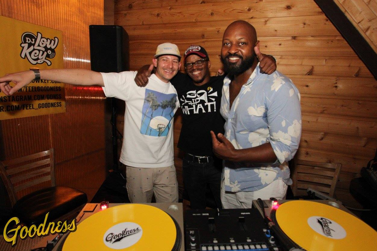DJ Low Key with SoWhat! the club founders DJ K-Nee and Big Styles