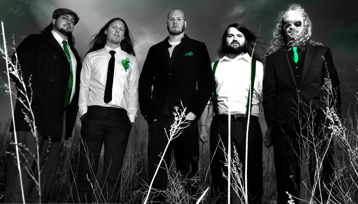 Danny Pappas (center) and his My Own Iris bandmates, Jason Ricker (from left), Calvin Cohee, Luke Anderson and Jason Dorwart.