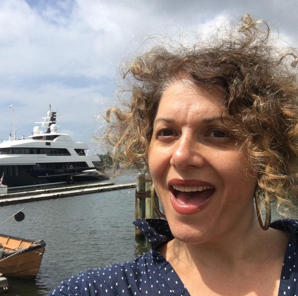 Screw frizz; I found my dream yacht