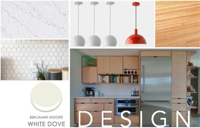 Initial design / materials mock-up