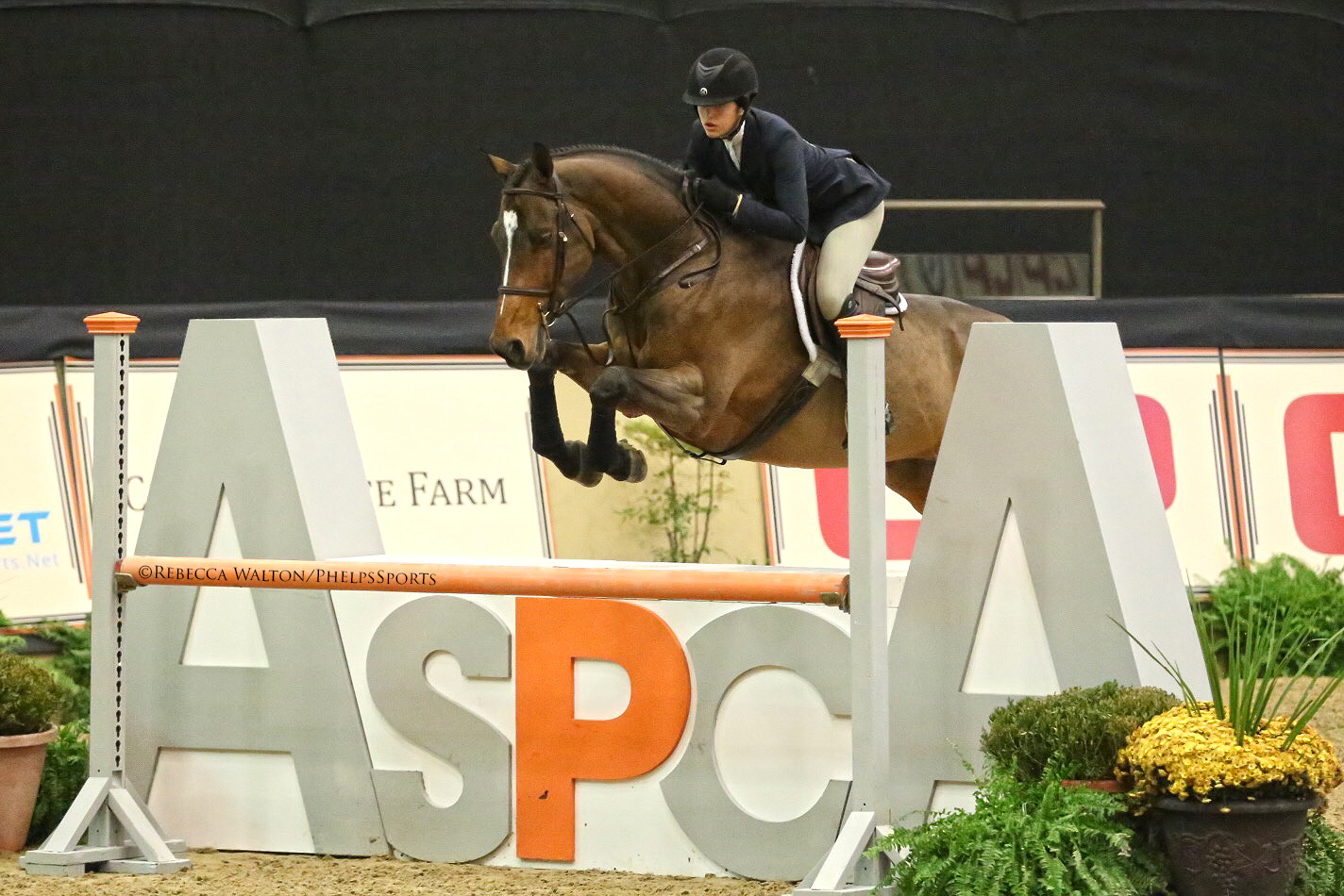 McKayla Langmeier and Skyfall. Photo by Phelps Media Group