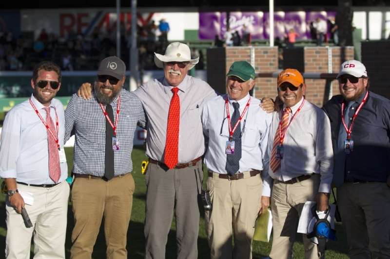 Nick Granat works with some of the best in the sport. Here he is with Manuel Esparza, Leopoldo Palacios, Anthony D'Ambrosio, Florencio Hernandez Zapot and Gabriel Belanger. Photo by Cealy Tetley