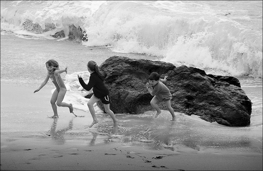 Escaping the Surf - St Ives, Cornwall