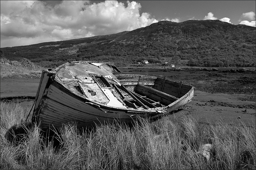High and Dry on the Isle of Skye, Scotland