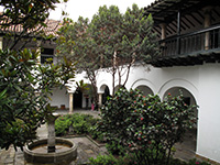 Botero Museum Courtyard