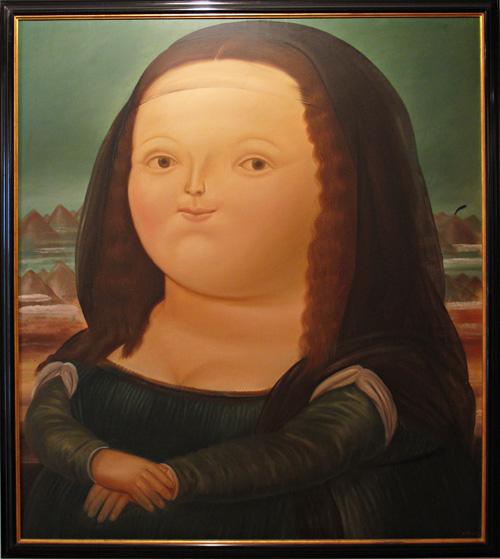 Monalisa by Fernando Botero