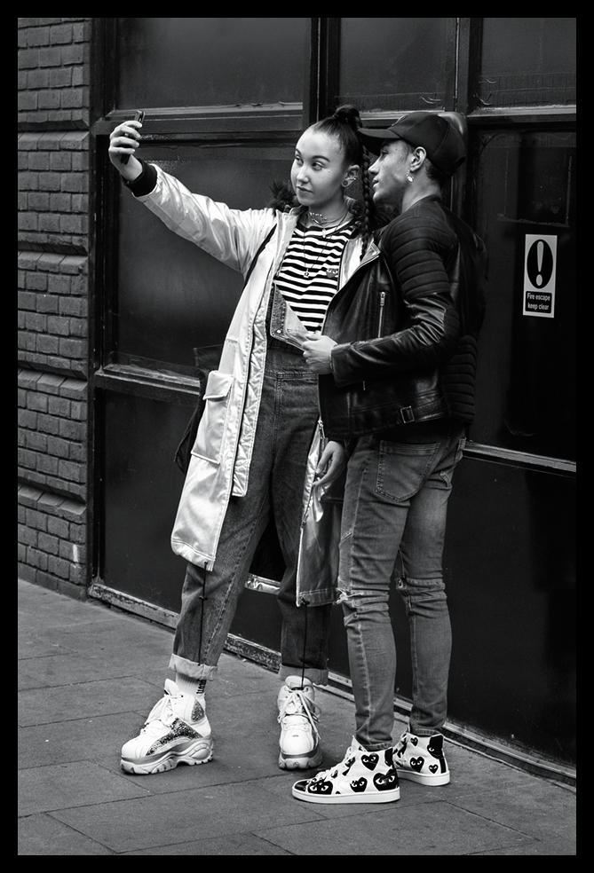 Silvered Selfie -Nikon 24-120mm f5.6 1/80sec ISO 1600