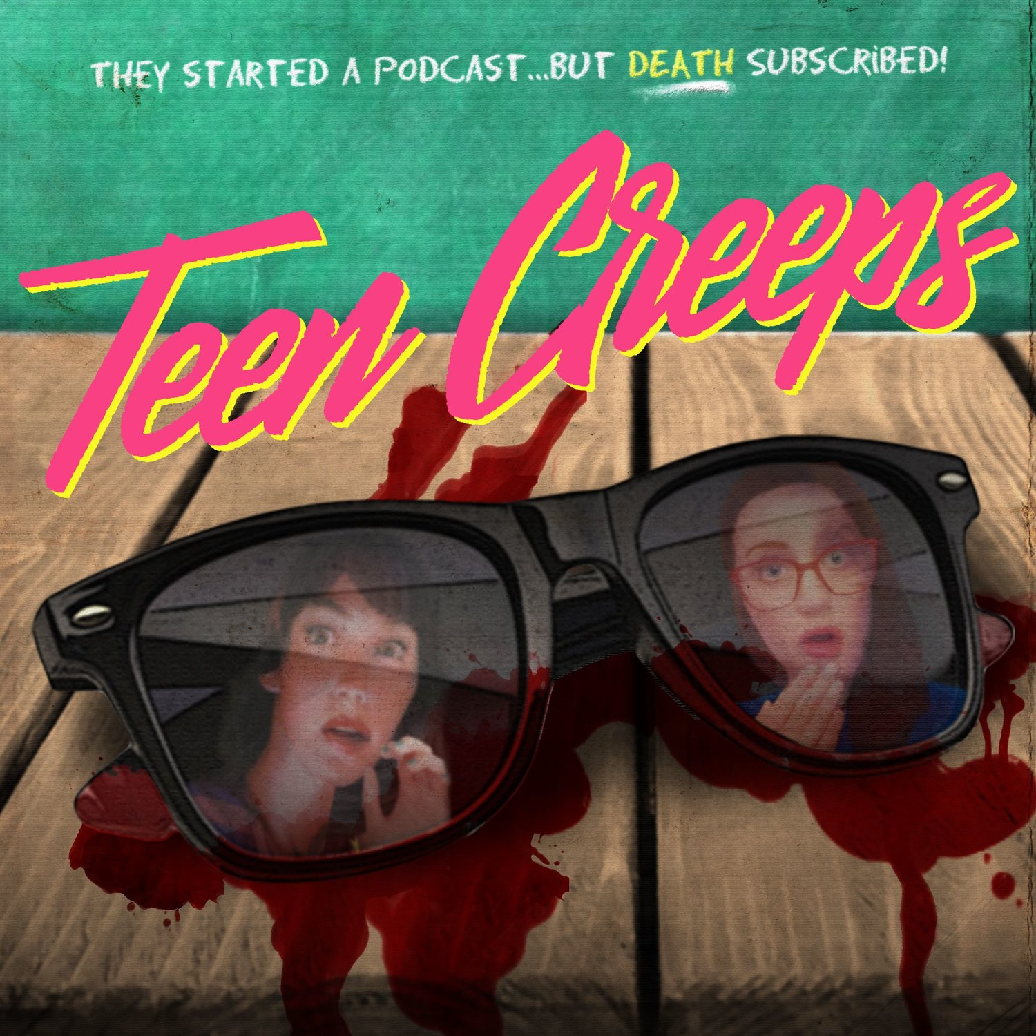 I guested on Lindsay Katai's incredible podcast  Teen Creeps  and read Christopher Pike's  The Immortal  about sexy teenagers, Greece vacations, and eating glass.