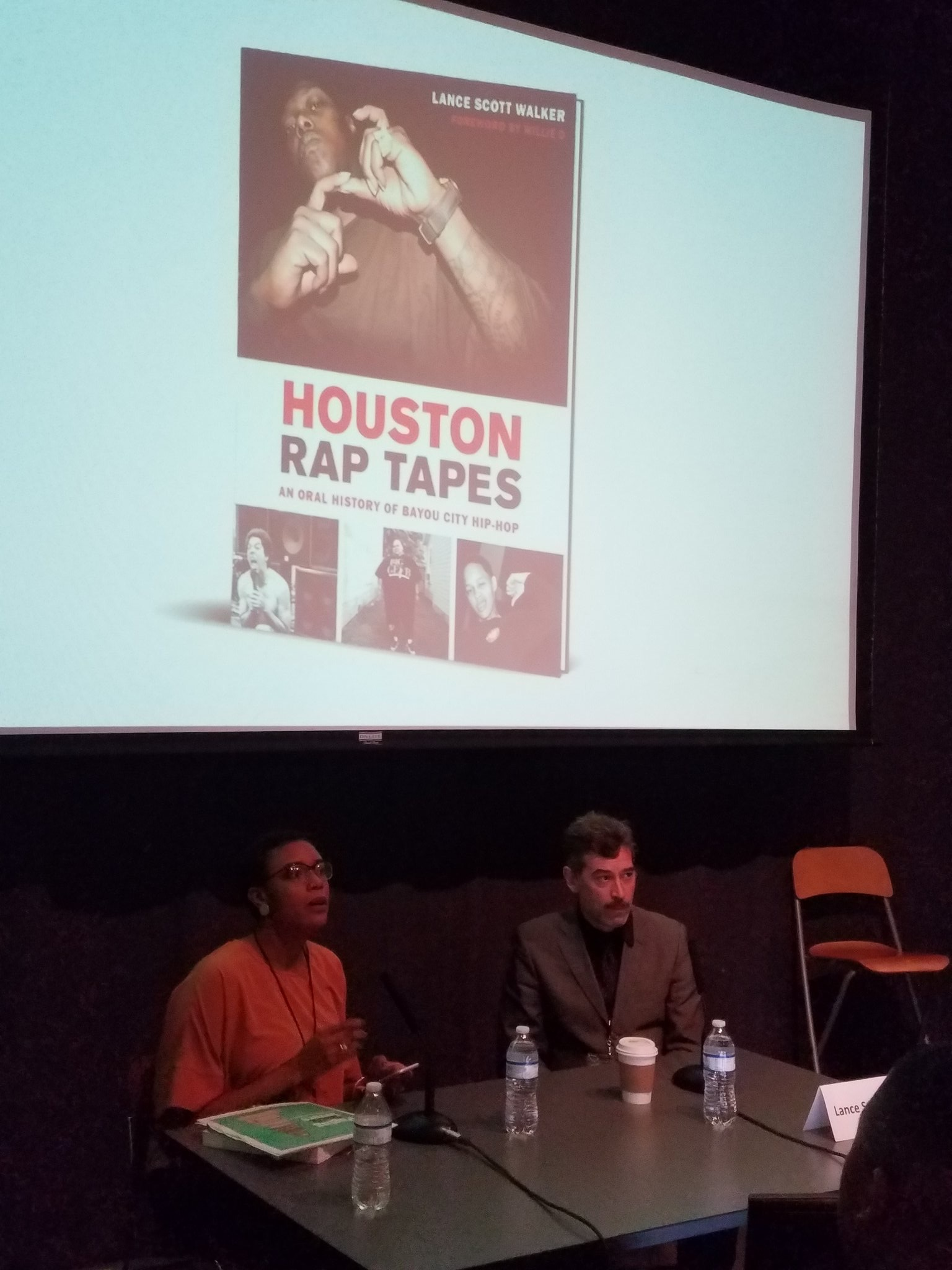 """Houston Rap Tapes"" 2018 Texas Book Festival Moderator"