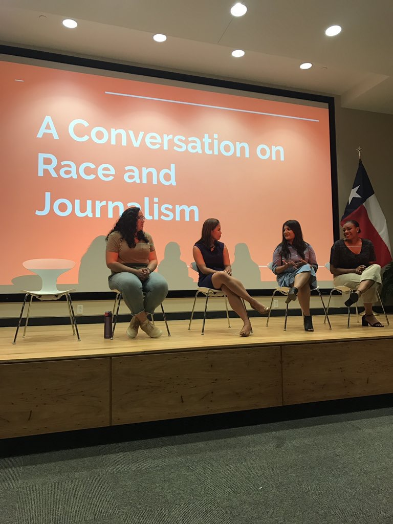 Panelist for UT NABJ's  'A Conversation on Race and Journalism'