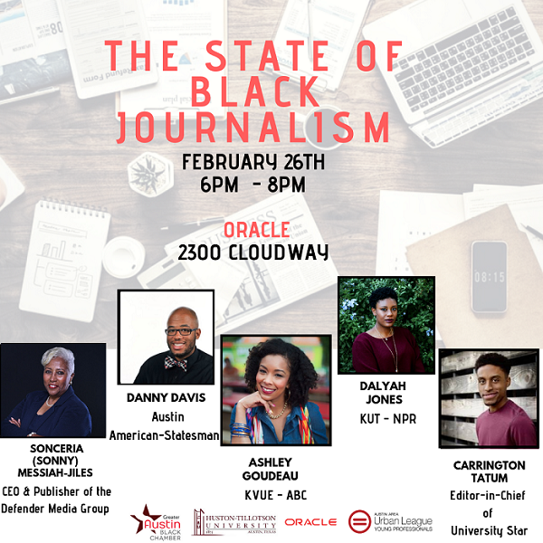 'The State of Black Journalism' Moderator and Planner