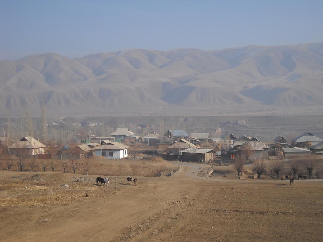 Ak-Tepek village, Kyrgyzstan