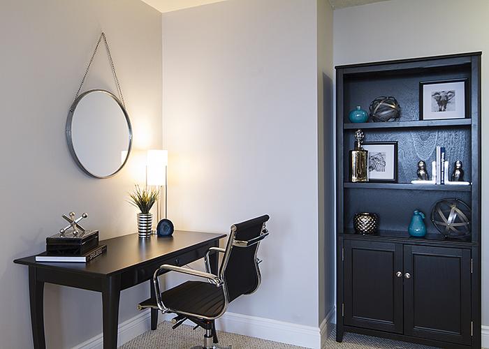 Condo makeover - study/office area