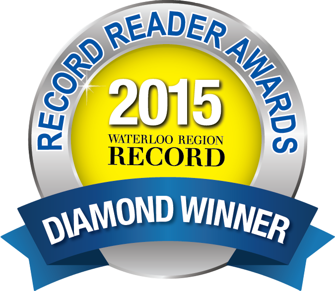 Record Reader Awards Diamond Winner Badge 2015