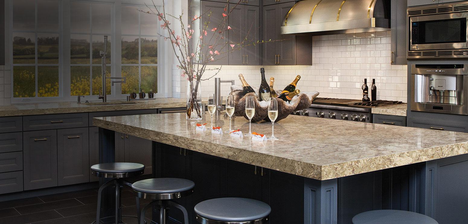cambria quartz kitchen