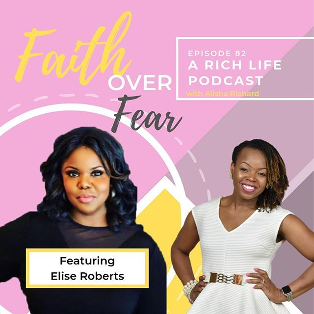 Thank you so much @eliserobertstv for our amazing conversation! Our listeners will learn so much from you. ❣️ You talked about how we must keep God first, to choose FAITH over fear, and about the importance of prayer, meditation, and so much more! ❣️ You are truly one amazing soul! Thanks for being a guest on the Podcast and always know that just as the sun, your light shines bright! 💛 Be sure to tune in to our latest episode with @arichlife.co Podcast.  #lifestylepodcast #podcasts #podcastforwomen #podcastformoms #podcastforchristians #podcastforcreatives #podcastforentrepreneurs #podcaster #christianpodcast #risesisterrise #arichlife #livearichlife