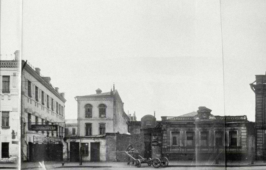 View from the Bakuninskaya st, 1920-30ss