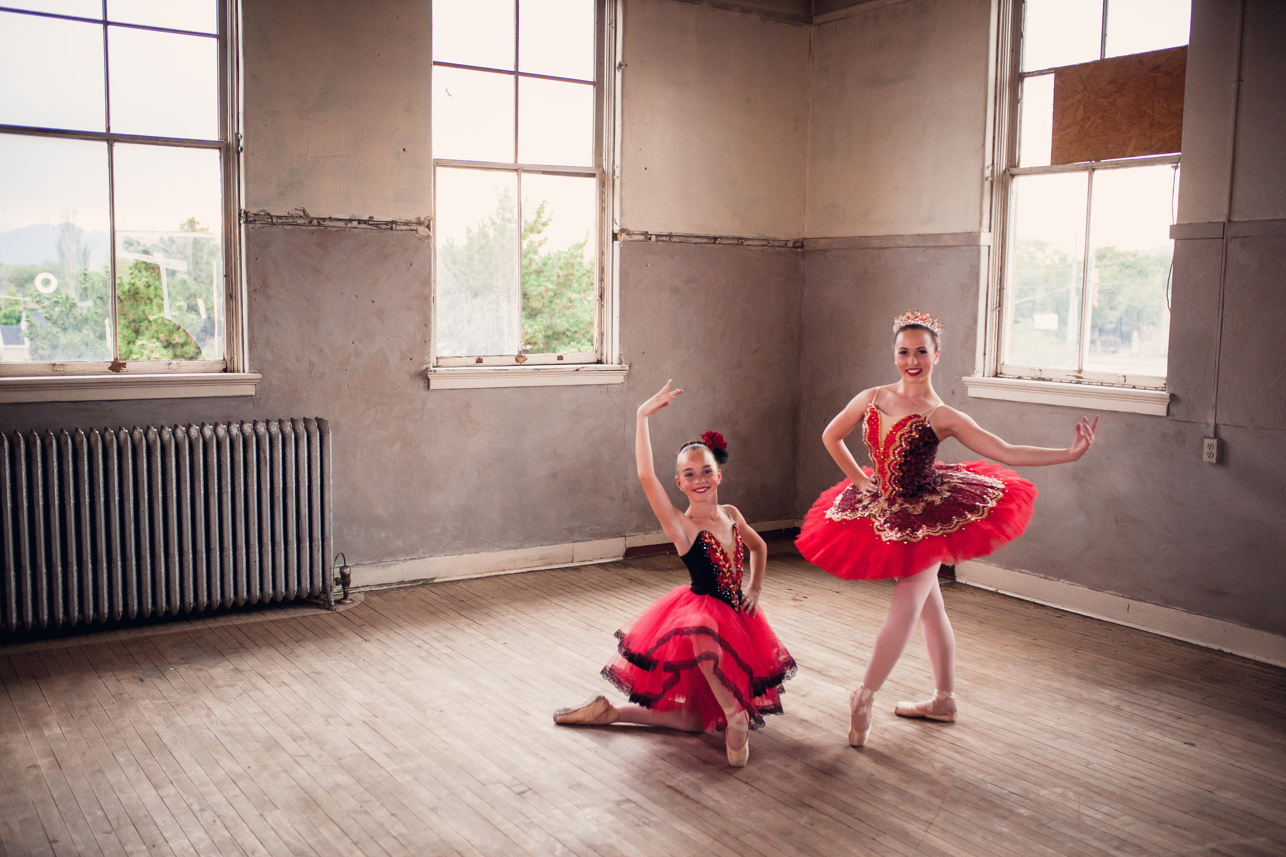 Devree Roberts &Claire Milner, Barlow Arts Conservatory