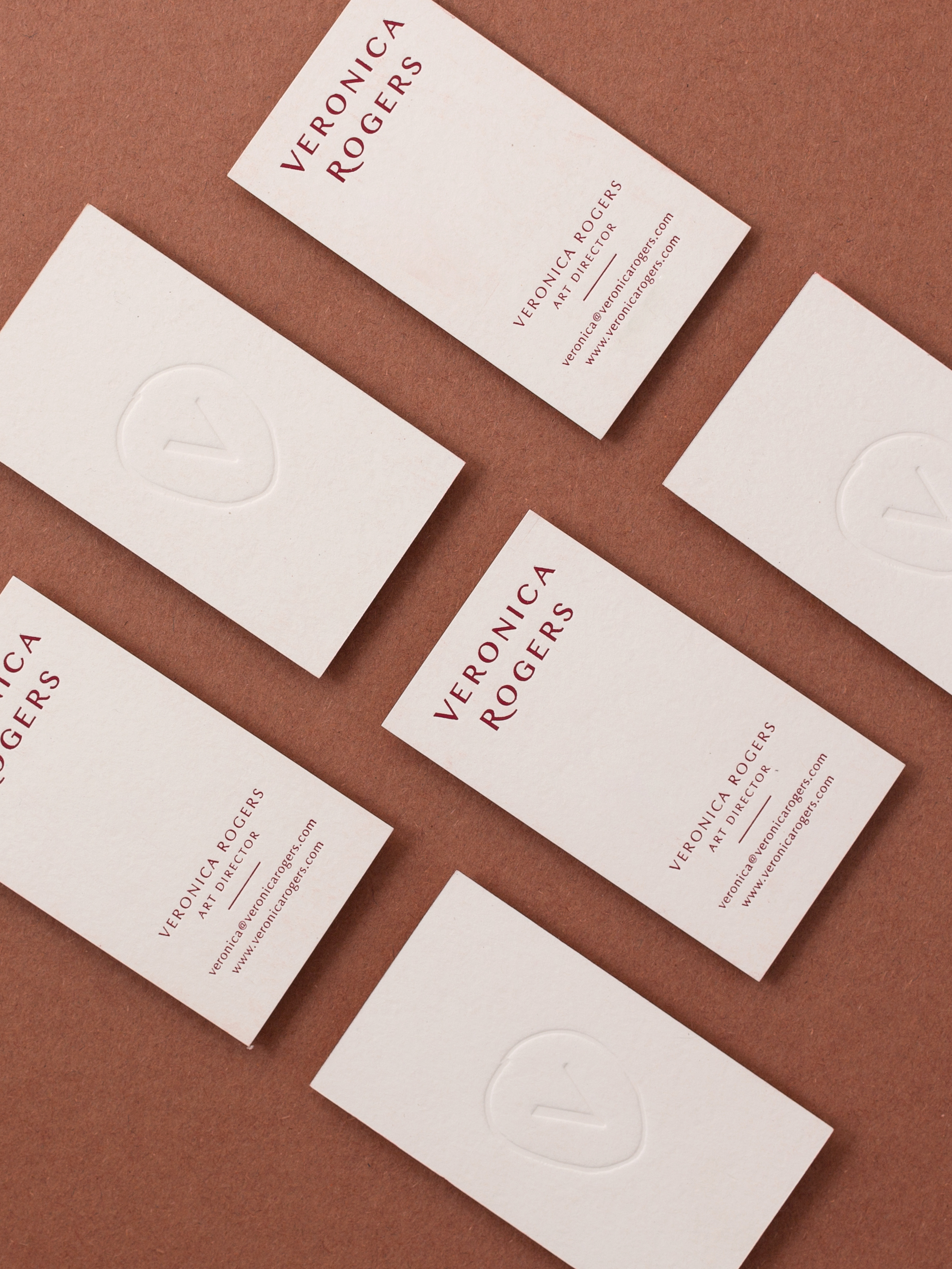 Veronica Rogers branding by Shoppe Theory. Photograph by Anna Wu