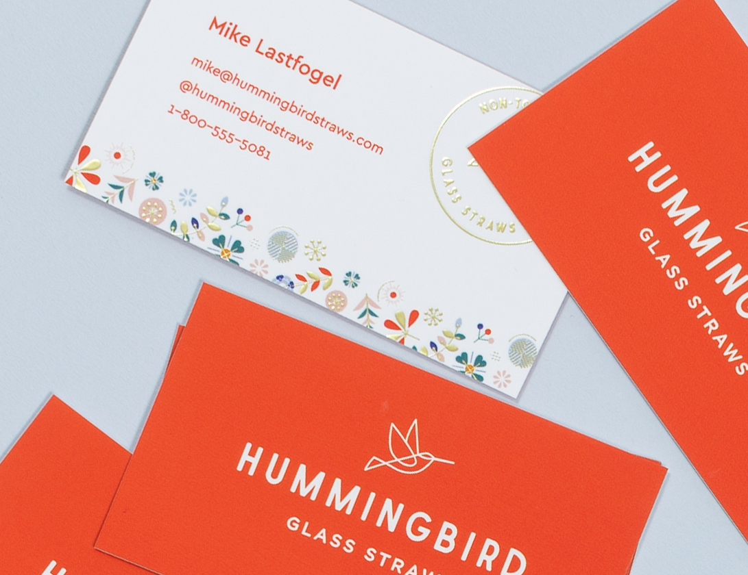 Hummingbird Straws - Strategy, Branding, Packaging, Website Design