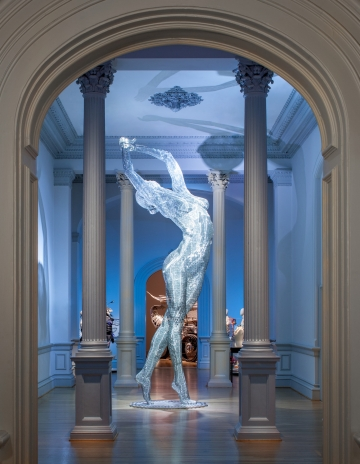 No Spectators: The Art of Burning Man  at the Renwick Gallery, installation view (photo by Ron Blunt)