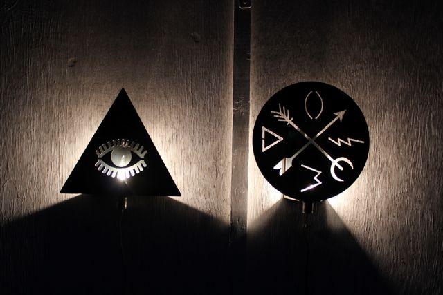 Hex Lamps
