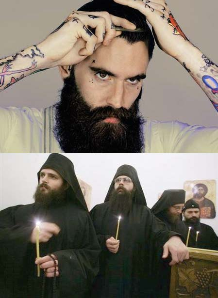 #5. Orthodox leaders have cool beards, like hipsters.