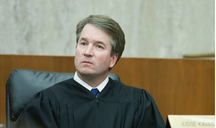 Newly appointed Judge Kavanaugh.