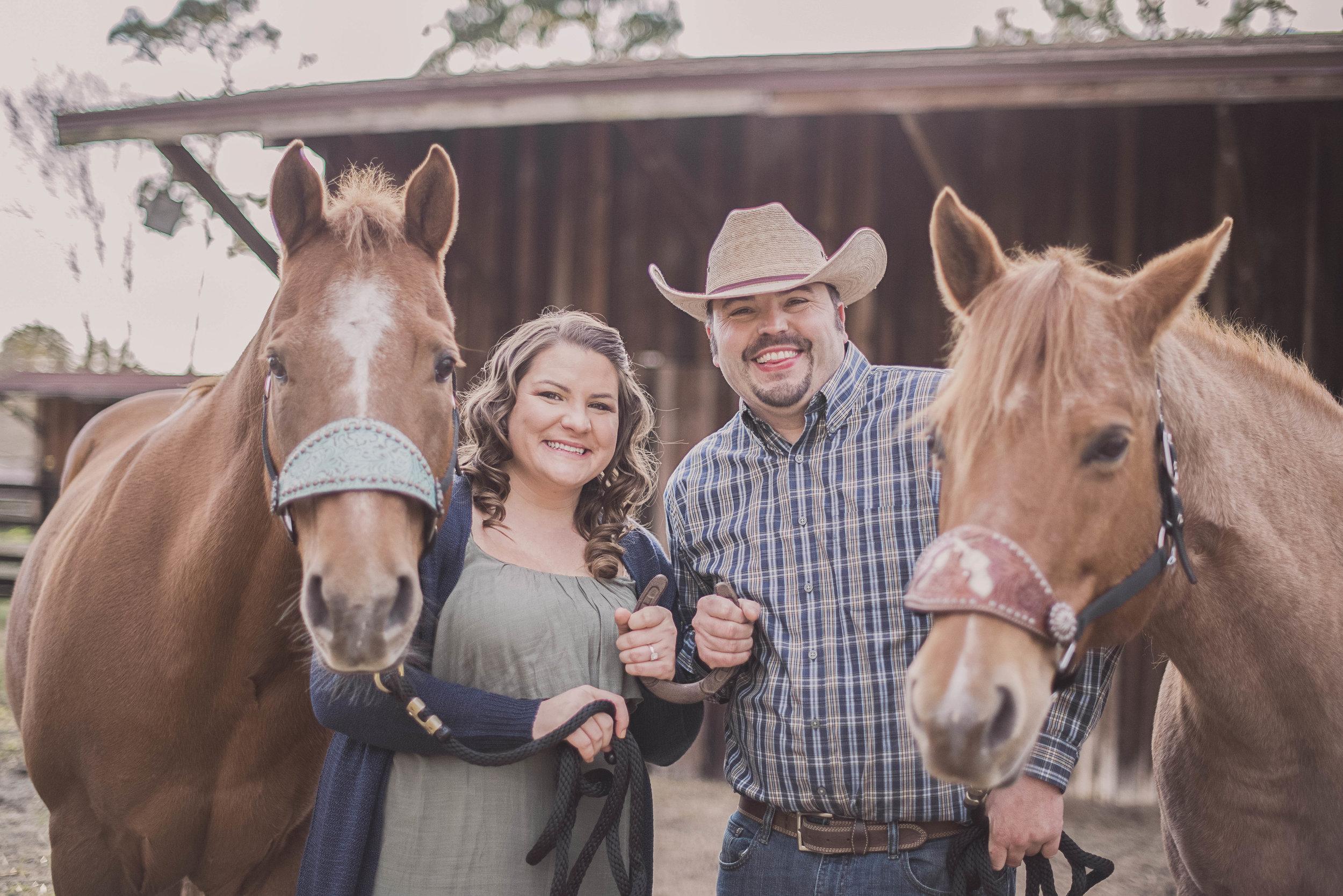 jacksonville-florida-horse-engagement-session-photos