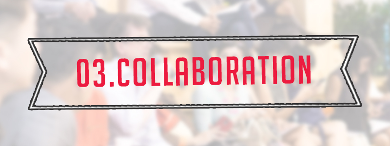 Step 3:Collaborate with new people