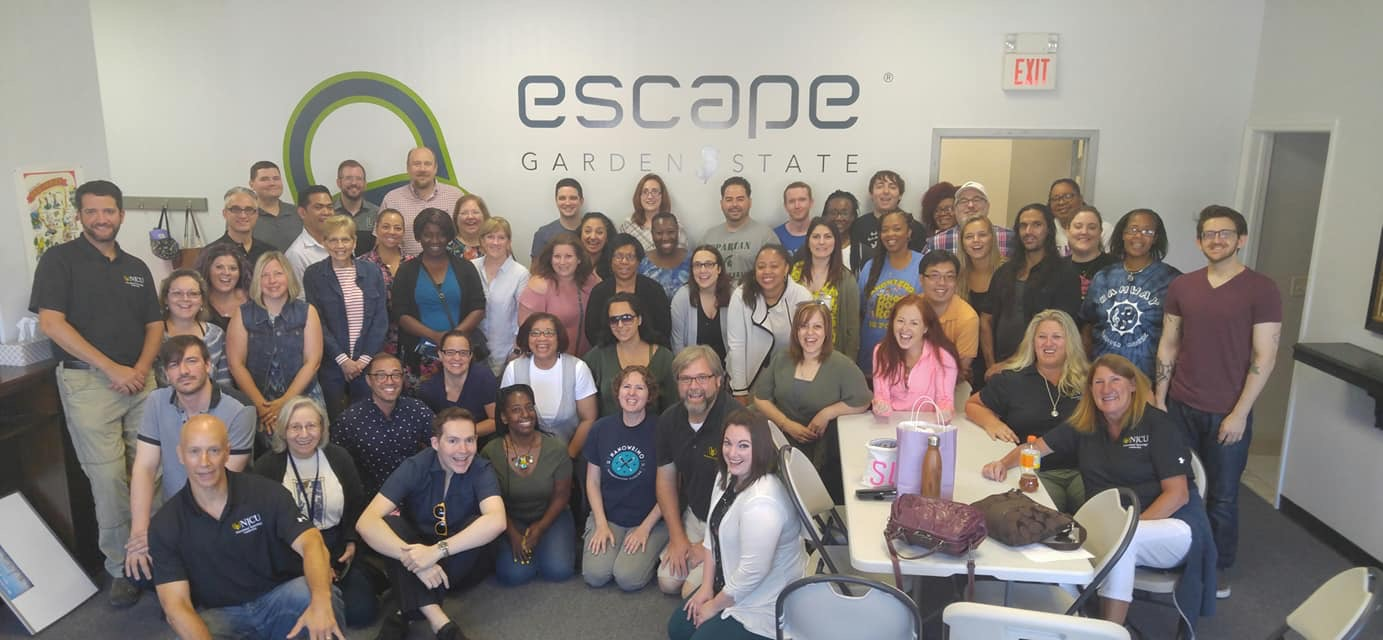 Summer Institute 2018 trip to Escape Garden State