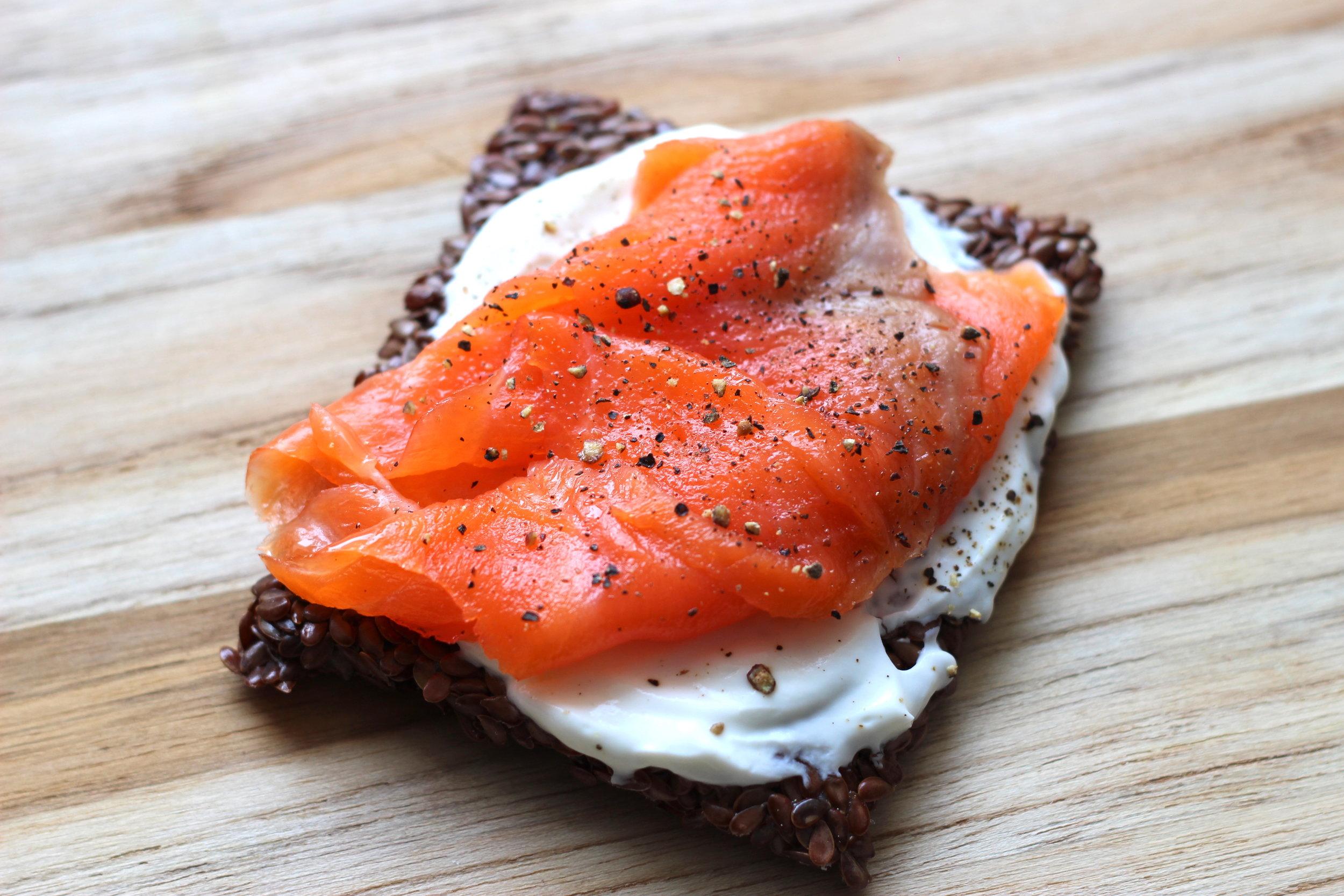 smoked salmon ggs cracker.JPG