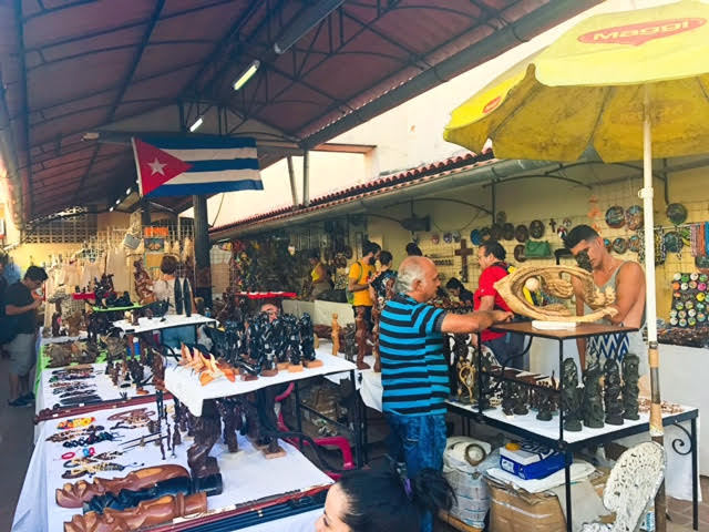Market Place. Tons of artesania, souvenirs and hand made goodies.